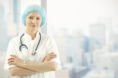 medicinsk kontorsskyskrapa för doktor Royaltyfria Foton