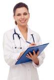 medicinsk le uniform kvinna arkivbilder