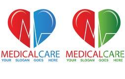 Medicinsk logo Arkivbild