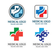 Medicinsk logo Royaltyfri Bild