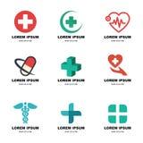 Medicinsk logo Arkivfoto