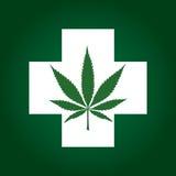 Medicinsk marijuana Royaltyfria Foton