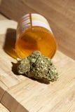 Medicinsk marijuana RX Royaltyfria Foton