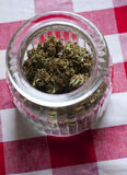 Medicinsk marijuanabunke 3 Arkivbilder