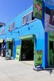 Medicinsk marijuanautvärderingsklinik, Venedig, Kalifornien Fotografering för Bildbyråer