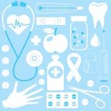 medicinsk modell stock illustrationer