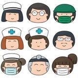 medicinsk personal Royaltyfri Foto