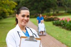 medicinsk professionell Royaltyfri Foto