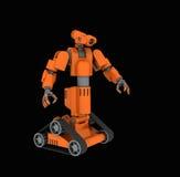 medicinsk robot stock illustrationer
