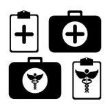 Medicinsk sats vektor illustrationer