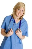 medicinsk sjuksköterska royaltyfria bilder