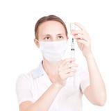 medicinsk sjuksköterska för doktor Royaltyfri Bild