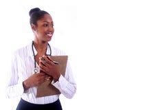 medicinsk sjuksköterska för doktor Arkivbild
