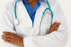 medicinsk ståendeprofessionell Royaltyfri Foto