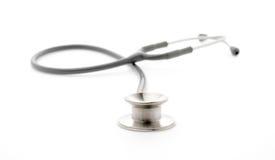 medicinsk stetoskopwhite för bakgrund Royaltyfria Bilder