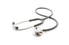 medicinsk stetoskopwhite för bakgrund Royaltyfri Bild