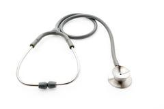 medicinsk stetoskopwhite för bakgrund Royaltyfri Fotografi