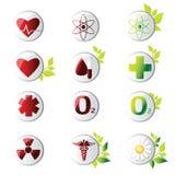 Medicinsk symbol royaltyfri illustrationer