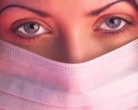 medicinsk syster Arkivbild