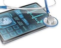 medicinsk tablet arkivbild