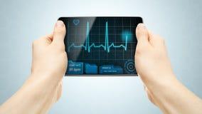 medicinsk tablet Royaltyfri Foto