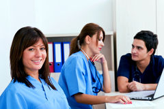 medicinsk teamwork Arkivfoto