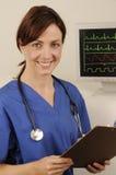 medicinsk tekniker Royaltyfri Foto