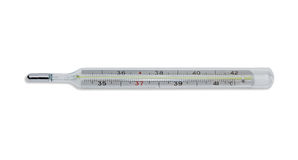 medicinsk termometer Arkivfoto