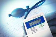 medicinsk tonometer Fotografering för Bildbyråer