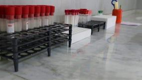 Medicinsk utrustning Blodprov arkivbild