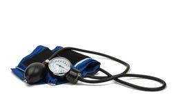 Medicinsk utrustning för blodtryckmeter arkivbilder
