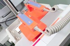 Medicinsk utrustning för cpr arkivfoto