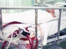 Medicinsk utrustning i arbetet Royaltyfri Fotografi