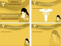 medicinska bakgrunder Arkivbilder