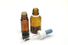 medicinska flaskor Arkivfoto