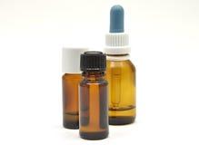 medicinska flaskor Arkivfoton