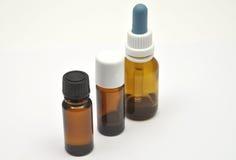 medicinska flaskor Arkivbild