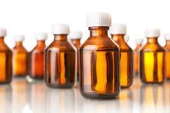 Medicinska flaskor Royaltyfri Fotografi