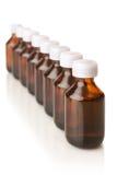Medicinska flaskor Royaltyfria Bilder