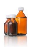 Medicinska flaskor Royaltyfri Bild