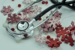 Medicinska instrument och kort Royaltyfria Foton
