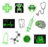 medicinska objekt royaltyfri illustrationer