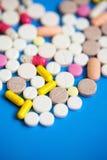 Medicinska olika droger Royaltyfria Foton
