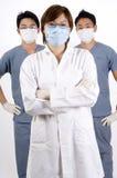 Medicinska personaler arkivfoto