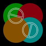 medicinska piller symbol, medicinsymbol, h?lsa vektor illustrationer
