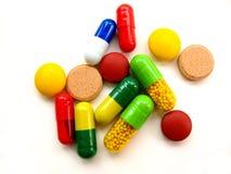 medicinska pills Arkivbild