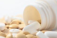 medicinska pills Arkivfoton
