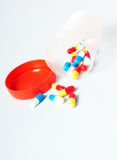 medicinska pills Arkivfoto