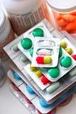 medicinska pills Arkivbilder