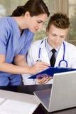 medicinska professionell Arkivfoto